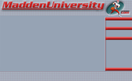 MaddenUniversity.com 1.0 - Our first ever website design