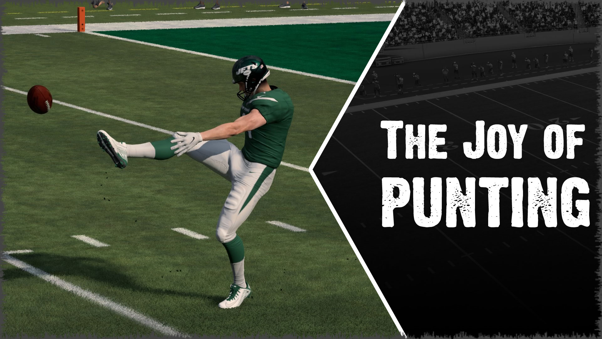 Punting the ball away is easily the most effective play in the history of football.